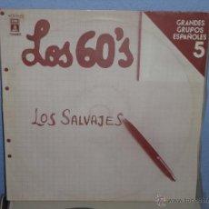 Discos de vinilo: LOS SALVAJES - LOS 60'S (VOL. 5). Lote 40274960