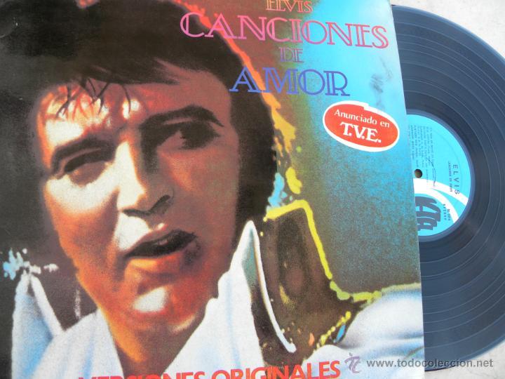 ELVIS PRESLEY -CANCIONES DE AMOR -LP 1979 (Música - Discos - LP Vinilo - Rock & Roll)