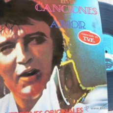 Discos de vinilo: ELVIS PRESLEY -CANCIONES DE AMOR -LP 1979. Lote 40277482