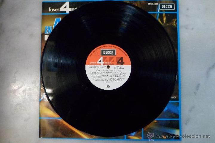 Discos de vinilo: LP 1975 GRABACIÓN EN 4 FASES. DISCO DEMOSTRATIVO. DECCA - Foto 3 - 40279212