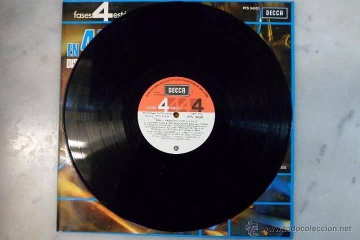 Discos de vinilo: LP 1975 GRABACIÓN EN 4 FASES. DISCO DEMOSTRATIVO. DECCA - Foto 5 - 40279212