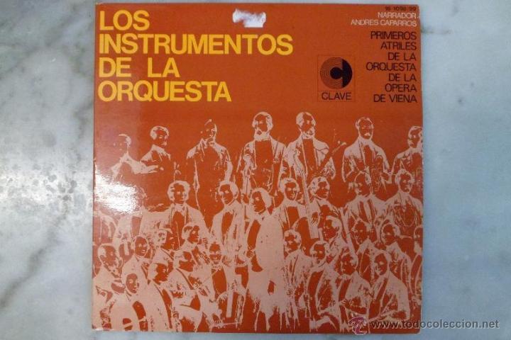LOS INSTRUMENTOS DE LA ORQUESTA. 2 LP'S . 1968. (Música - Discos - LP Vinilo - Otros estilos)
