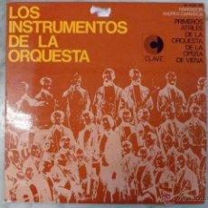 Discos de vinilo: LOS INSTRUMENTOS DE LA ORQUESTA. 2 LP'S . 1968.. Lote 40281342