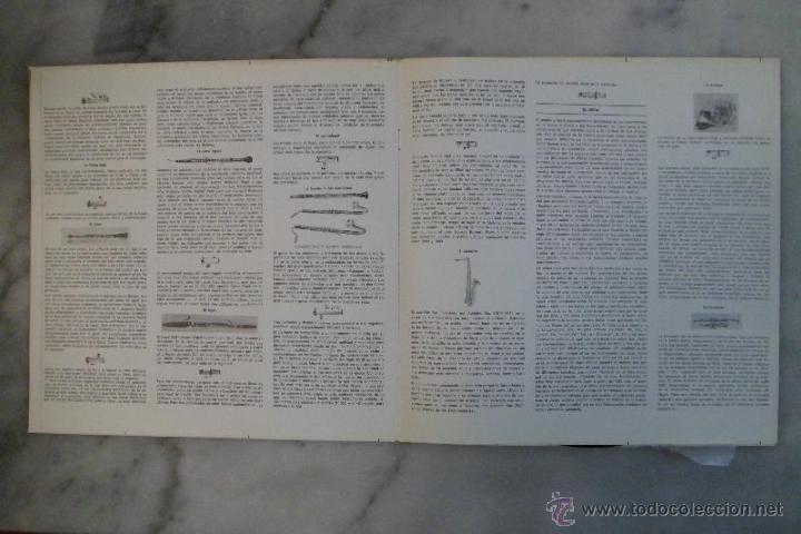 Discos de vinilo: LOS INSTRUMENTOS DE LA ORQUESTA. 2 LPS . 1968. - Foto 2 - 40281342