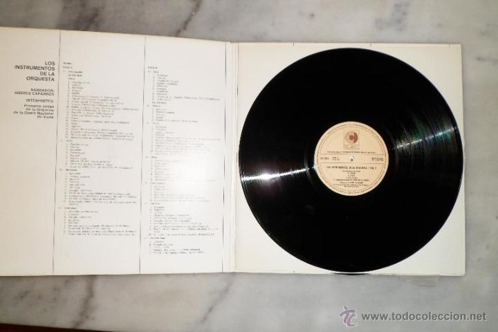Discos de vinilo: LOS INSTRUMENTOS DE LA ORQUESTA. 2 LPS . 1968. - Foto 3 - 40281342