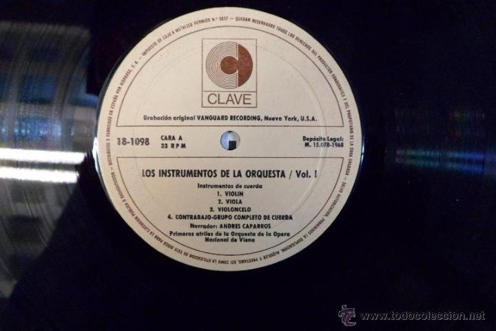 Discos de vinilo: LOS INSTRUMENTOS DE LA ORQUESTA. 2 LPS . 1968. - Foto 4 - 40281342