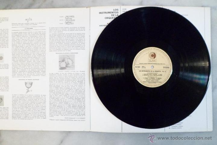 Discos de vinilo: LOS INSTRUMENTOS DE LA ORQUESTA. 2 LPS . 1968. - Foto 5 - 40281342