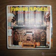 Discos de vinilo: MARCHAS NUPCIALES. MENDELSSOHN / WAGNER. MOVIEPLAY 1972. Lote 40281813