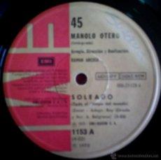 Discos de vinilo: TRES SENCILLOS ARGENTINOS DE MANOLO OTERO. Lote 39498194