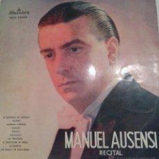 Discos de vinilo: MANUEL AUSENS - IL BARBIERI DE SIVIGLIA - FAUSTO- ETC.. Lote 40287202