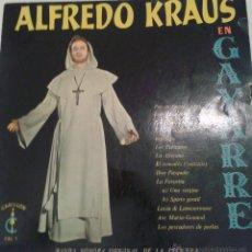 Discos de vinilo: ALFREDO KRAUS - EN GAYARRE -. Lote 40287228