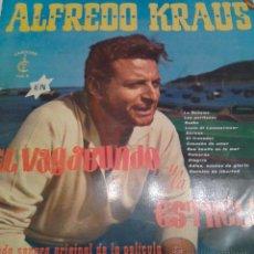 Discos de vinilo: - ALFREDO KRAUSS - EN EL BAGABUNDO Y LA ESTRELLA -. Lote 40287411