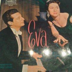 Discos de vinilo: - E V A - OPERETA BY FRANZ LEHAR - ORQUETA DE CAMARA DE MADRID -. Lote 40287443
