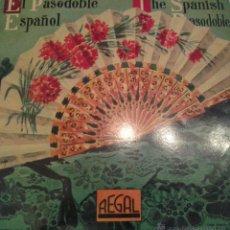 Discos de vinilo: - EL PASODOBLE ESPAÑOL - ESPAÑA CAÑI - SUSPIROS DE ESPAÑA- AMPARITO ROCA ETC.. Lote 40287528