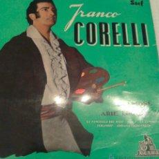 Discos de vinilo: - FRANCO CORELLI - IN FAMOSE ARIE LIRICHE-. Lote 40287555