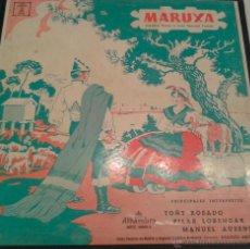 Discos de vinilo: - MARUXA - DOBLE ALBUM - AMADEO VIVES Y LUIS PASCUAL FRUTOS-. Lote 40287655