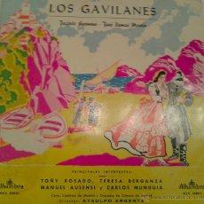 Discos de vinilo: - LOS GAVILANES -. Lote 40287930