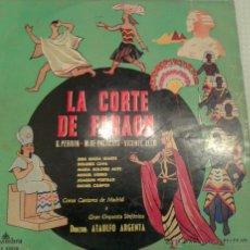 Discos de vinilo: - LA CORTE DE FARAON -. Lote 40288029
