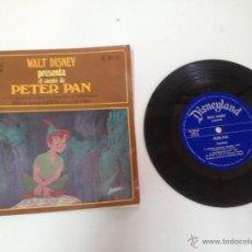 Discos de vinilo: PETER PAN DISCO CUENTO DISNEYLAND RECORDS AÑOS 70. Lote 40289609