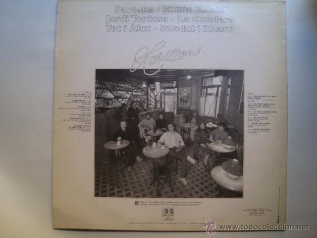 Discos de vinilo: Contraportada de l'àlbum. - Foto 2 - 40291981