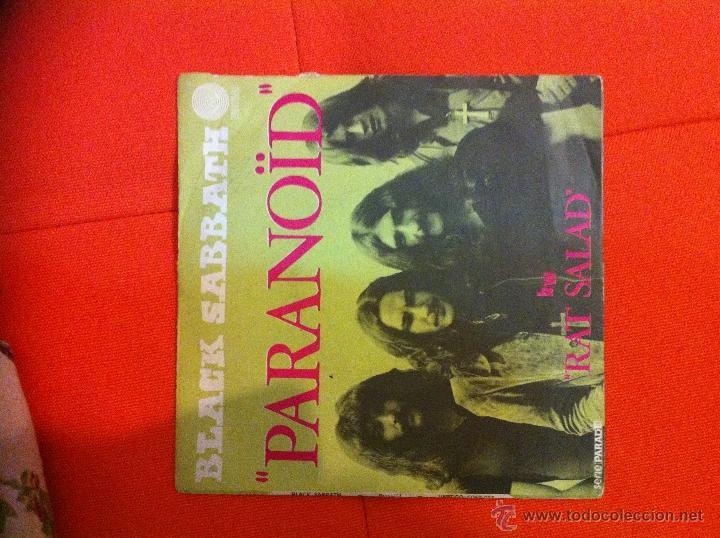 BLACK SABBATH- PARANOID- RARO (Música - Discos - Singles Vinilo - Heavy - Metal)