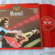 Discos de vinilo: MEMPHIS INTERNATIONAL EDITION ROCK-POP LP VINYL ROJO 1985. Lote 40306131