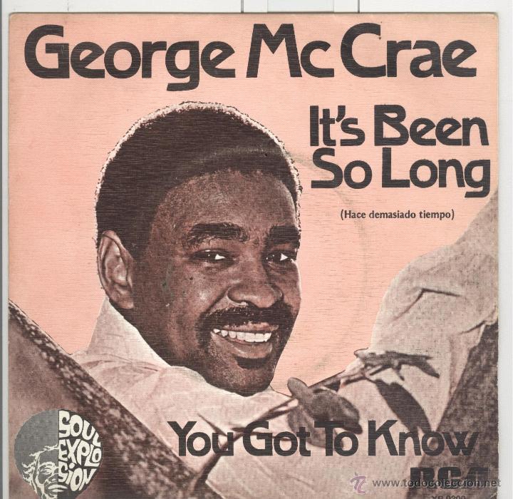 GEORGE MCCRAE. IT'S BEEN SO LONG. RCA 1975. SP NUEVO (Música - Discos - Singles Vinilo - Pop - Rock - Extranjero de los 70)