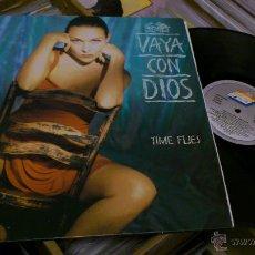 Discos de vinilo: VAYA CON DIOS TIME FLIES LP DISCO DE VINILO . Lote 40325353