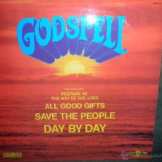 Discos de vinilo: GODSPELL - GODSPELL LP - ORIGINAL INGLES WIND MILL RECORDS 1973. Lote 40329380