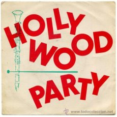 Discos de vinilo: HOLLYWOOD CLUB ORCHESTRA - HOLLYWOOD PARTY - EP FRANCE 1958 - NO LABEL 39.436. Lote 40333981