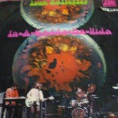 Discos de vinilo: IRON BUTTERFLY-IN-A-GADDA-DA-LLIDA-EDIC ORIG ESPAÑOLA 1969. Lote 40339539