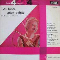 Discos de vinilo - lp - eric rogers y su orquesta - los locos años veinte (spain, decca records 1963) - 40341633