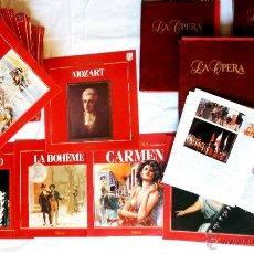 Discos de vinilo: ANTIGUA COLECCION DE MUSICA CLASICA EN 59 DISCOS DE VINILO DE LA EDICION SALVAT + 4 LIBROS.1988. Lote 40343783