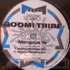 Discos de vinilo: BOOM! TRIBE: MANGOUS YE, MAXI SINGLE 12. Lote 28860950