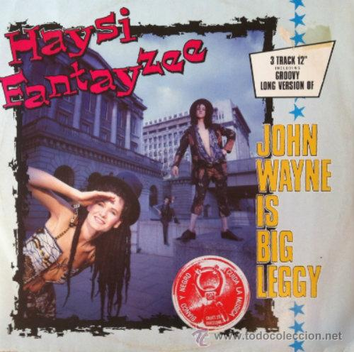 HAYSI FANTAYZEE : JOHN WAINE IS BIG LEGGI, MAXI SINGLE 12 (Música - Discos de Vinilo - Maxi Singles - Pop - Rock - New Wave Internacional de los 80)