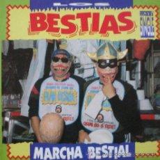 Discos de vinilo: LOS BESTIAS - MARCHA BESTIAL . MAXI SINGLE . 1993 ZAFIRO. Lote 33447827