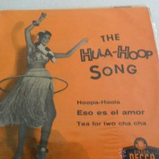 Discos de vinilo: BILL HUMBER -HULA-HOOP SONG + 3 EP . Lote 40353675