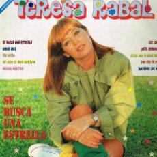 Discos de vinilo: TERESA RABAL - SE BUSCA UNA ESTRELLA - LP 1992. Lote 40369275