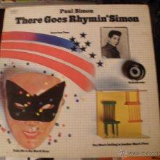 Discos de vinilo: PAUL SIMON - THERE GOES RHYMIN' SIMON . Lote 40375366