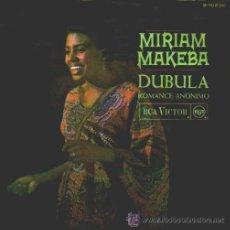 Discos de vinilo: MIRIAM MAKEBA - DUBULA - 1968. Lote 40376022