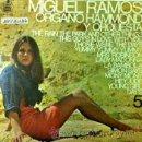 Discos de vinilo: MIGUEL RAMOS - ÓRGANO HAMMOND Y ORQUESTA 5 - (CON VERSIONES DE HEY JUDE Y LADY MADONNA DE BEATLES). Lote 40376322