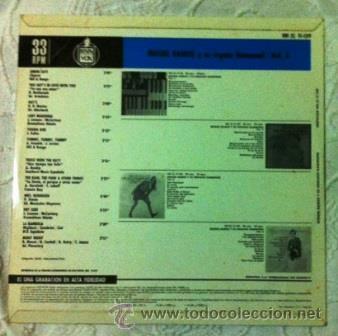 Discos de vinilo: MIGUEL RAMOS - ÓRGANO HAMMOND Y ORQUESTA 5 - (con versiones de Hey Jude y Lady Madonna de Beatles) - Foto 2 - 40376322