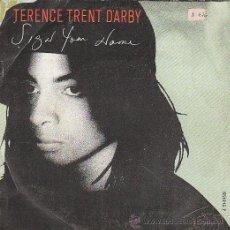 Discos de vinilo: TERENCE TRENT D'ARBY: SIGN YOUR NAME/GREASY CHICKEN, EDITADO POR CBS EN 1987. Lote 40383873