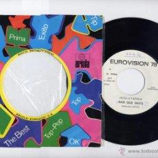 Discos de vinilo: EUROVISION INGLATERRA 1978 COCO PROMO 45 BAD OLD DAYS ARIOLA. Lote 40385174