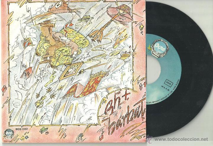 ENRIC BARBAT RH+ ELECCIONES / TRABAJAR MATA SINGLE OCRE 1978 @ CANÇÓ CATALUÑA @ NUEVO A ESTRENAR (Música - Discos de Vinilo - EPs - Cantautores Españoles)