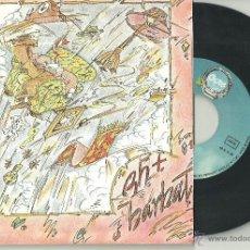 Discos de vinilo: ENRIC BARBAT RH+ ELECCIONES / TRABAJAR MATA SINGLE OCRE 1978 @ CANÇÓ CATALUÑA @ NUEVO A ESTRENAR. Lote 40386980