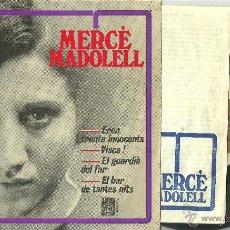 Discos de vinilo: MERCE MADOLELL EL BAR DE TANTAS NITS + 3 EP CONCENTRIC 1966 @ CANÇÓ @ + LETRAS. Lote 40388392