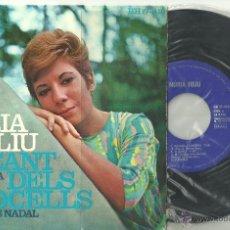 Discos de vinilo: NURIA FELIU EL CANT DELS OCELLS + 3 EP ESTEL 1967 @ JAZZ CATALUÑA @ UN EP COMO NUEVO. Lote 40388961