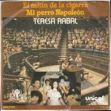 Discos de vinilo: TERESA RABAL - EL MITÍN DE LA CIGARRA - MI PERRO NAPOLEÓN, EDITADO POR BELTER EN 1979. Lote 40390341