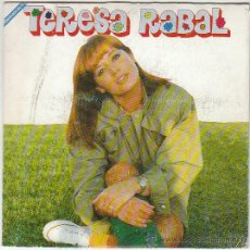Discos de vinilo: TERESA RABAL - LOS LIGONES / JUNTEMOS LAS MANOS, EDITADO POR HISPAMUSIC EN 1992. Lote 40390360